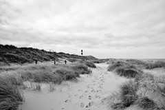 Lighthouse Sylt (kuestenkind) Tags: sylt schwarzweis blackandwhite bnw bw leuchtturm lighthouse schleswigholstein norddeutschland northgermany nordsee beach strand