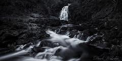 Gleno Waterfall (Deek Wilson) Tags: glenoe waterfall blackandwhite mono black white northernireland landscape longexposure