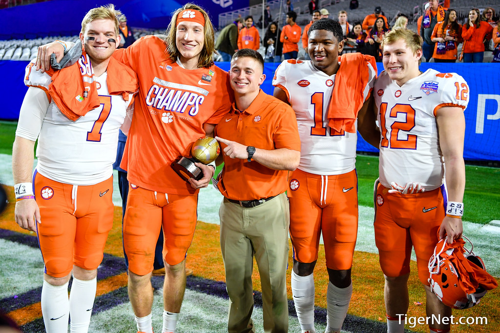 Clemson Photos: Chase  Brice, Taisun  Phommachanh, Trevor  Lawrence, 2019, Football, ohiostate