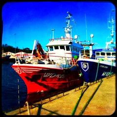 Kennedy WD-135 (Julie (thanks for 9 million views)) Tags: hipstamaticapp squareformat colour fishingboat stuffonships dunmoreeast harbour waterford ireland irish ship trawler maritime kennedy wd135 verlaine wd5 hss sliderssunday iphone6s
