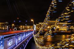 Evening Lights of Snowless December - Вечерние огни бесснежного декабря (Valery Parshin) Tags: canoneos70d sigma1750mmf28exdcoshsm saintpetersburg stpetersburg russia evening neva ngc light longexposure