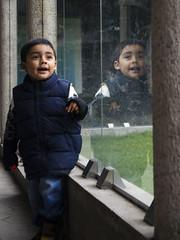 Surprise (Karla May) Tags: zacango mexico mexique nikon 50mm colors kid boy baby garçon laugh surprise emotions reflections