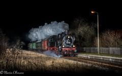 94 1538 in Martinroda (Emotion-Train) Tags: 941538 abteilwagen oppeln baureihe 94 tausend türen zug personen alte wagen rennsteigbahn