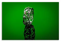 welsh gold. (On green) (johnhjic) Tags: johnhjic jewellery gold welsh green reflection art clogau studio flash macro ring strobe silver