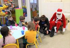 Père Noël à l'école du Centre (2)