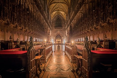 Candlelit Tour of the Cathedral (28th Dec 2019) (Mark Carline) Tags: candlelittour chesterculture candle cheshire chester chestercathedral christmas
