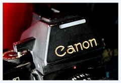F-1 (overthemoon) Tags: camera appareil macromondays redux logo canon 1984 redux2019 brandandlogos