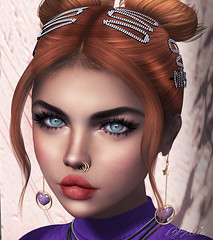 Oye...mírame (babibellic) Tags: secondlife sl avatar aviglam portrait people fashion face foxy deetalez catwa blogger beauty babigiobellic bento babibellic virtual moda model mujer makeup michan