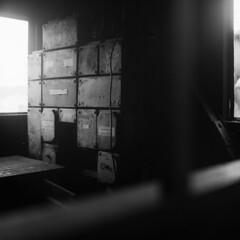 Röchling'sche Eisen und Stahlwerke (analog) (Sebastian Petermann) Tags: hüttenwerk stahlwerk hochofen röchling hermannröchling blastfurnace völklingerhütte hautfourneau saarstahl eisen roheisen eisenerz minette saar saarland germany ironworks industrie industriekultur industry abstich stahl steel industrialheritage sarre völklingen