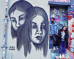 Toronto (kirstiecat) Tags: toronto graffiti graffitialley lapupila nicolasalfalfa streetart colors beautiful strangers lovers colour canon canada