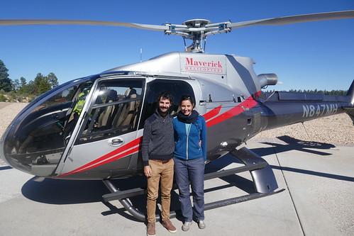 Grand Canyon South RIm - Hélicoptère