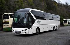 Holmeswood Coaches Neoplan Tourliner OE19FWR, Regent Road, Edinburgh 7/12/19 (andyflyer) Tags: holmeswoodcoaches holmeswood neoplantourliner neoplan tourliner oe19fwr regentroad coach bus transport