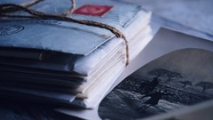 Letters and memories... (suzyhazelwood) Tags: letters memories old photos vintage photography writing stilllife still life childhood