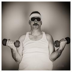 I resolve to... (_Matt_T_) Tags: selfie portrait dailyindecember newyears workout selfimprovement af540fgz apolloorb43 exercise smcpdfa50mmf28macro 365 westcott cactusv6 autoportrait bw