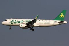 Spring Airlines | Airbus A320-200 | B-1839 | Macau International (Dennis HKG) Tags: aircraft airplane airport plane planespotting canon 7d 100400 macau vmmc mfm macao springairlines 9c cqh b1839 airbus a320 airbusa320 sharklets