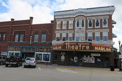 Harlan Theatre, Harlan, IA (Robby Virus) Tags: harlan iowa ia theatre theater cinema fourplex movies opera house longs sign signage marquee movie