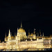 The Hungarian Parliament Building, night view