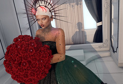 RP: Volkoff Wedding (A/M Photography) Tags: demon demoness plastik fakeicon secondlife wedding roleplay