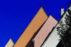 Lignes brisées (Edgard.V) Tags: colmar alsace maisons houses casas case architecture arquitectura architectura cores colours couleurs