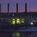 Amsterdam Steam Generating Station on the Mohawk River