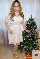 Dress 😘 (charliesweetie92) Tags: dress tgirl trans feminization drag christmas crossdressing transvestite androgynous dragqueen crossdressers transgirl boytogirl femboi transformation