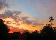 Sunset Sky - Melbourne 29.12.2019 (Amateur-Hour Photography) Tags: canon canonpowershot sx700hs sunset sky skies clouds cloudformations cloud