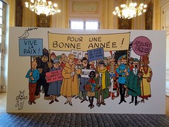 EXPOSITION SUR TINTIN (marsupilami92) Tags: france frankreich îledefrance 92 hautsdeseine levallois exposition tintin hergé infinitexposure