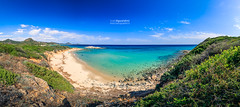 Scoglio_Peppino_190110-Pano (ivan.sgualdini) Tags: 5d italy panorama amazing beach blue canon coast coastline costarei crystal island landscape october paradise sand sardegna sardinia scogliodipeppino sea seascape summer view water