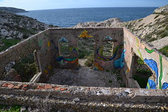 Frioul Island, Marseille (Jeanne Menjoulet) Tags: frioul île island marseille fort ruines militaire brigantin
