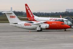 OO-TAZ (PlanePixNase) Tags: aircraft airport planespotting haj eddv hannover langenhagen plane british aerospace 146200 tnt airways bae bae146