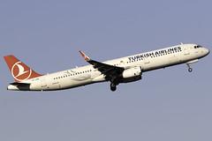 Turkish Airlines A321 TC-JSM at Manchester Airport MAN/EGCC (dan89876) Tags: turkish airlines airbus a321 a321200 a321231 tcjsm manchester international airport takeoff runway 05l departure man egcc