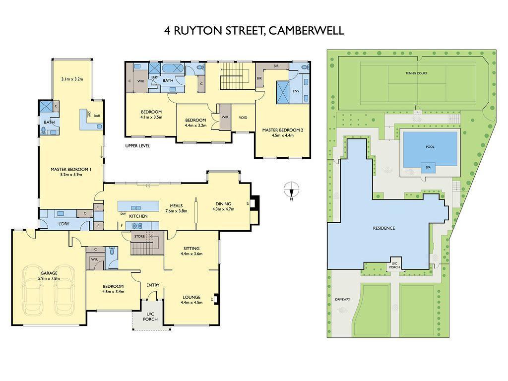 4 Ruyton Street, Camberwell VIC 3124 floorplan