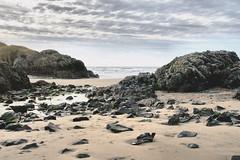 Rock and Sand (Ree Smith) Tags: winter coast beach rocks sand anglesey newboroughbeach northwales wales sky sea