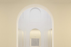 Five archways (Jan van der Wolf) Tags: map17475v muséedartsdenantes museum monochroom monochrome architecture architectuur archway bogen