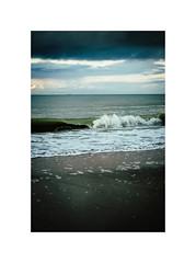 Waves of the sea (gerritdevinck) Tags: sea seaview northsea belgium belgie beach beautifulclouds cloudy belgiumcoast coastline westkust oostduinkerke waves fujifilm fujifilmxseries fujifilmbelgium fujifilmphotography fujifilmxpro2 xpro2 xf35mmf2 xf35mm