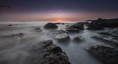The Wait (ianbrodie1) Tags: longsands tynemouth rocks sea seascape coast coastline leefilters longexposure sunrise priory pier lighthouse