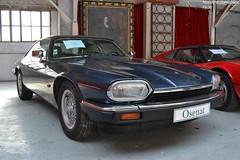 Jaguar  XJS 1993 (Monde-Auto Passion Photos) Tags: voiture vehicule auto automobile cars jaguar xjs coupé bleu blue ancienne classique rare rareté collection légende vente enchère osenat france fontainebleau