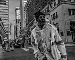 Chestnut Street, 2018 (Alan Barr) Tags: philadelphia 2018 chestnutstreet street sp streetphotography streetphoto blackandwhite bw blackwhite mono monochrome candid city people panasonic