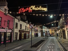 Christmas 2019 - Market Street Lower, Ennis. (firehouse.ie) Tags: noel illuminations shops shop urban street streets holidays xmas lights festive advent downtown town freestate roi eire winter december 2019 christmas ireland ennis