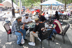 Chess in Market Square (lad49) Tags: tags chess streetphotography colorstreetphotography fiveguys marketsquare boardgames