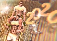 Happy 2020 from ChaSil & Baby Yoda (a.k.a. MR SL ♛ Tatooine) haha (Chase Ezarael Parthicus) Tags: newyearseve newyear newyears2020 2020 nye secondlife secondlifegay secondlifehunks sl secondlifeblogger secondlifefashion slblogger slfashion slgay slhunks slmen secondlifeart secondlifeartwork slart slartwork secondlifemodel slmodel secondlifephotographer secondlifephotography slphotographer slphotography bodybuilder bubblebutt bohemian gold golden gilded party celebration newyearseveparty nyeparty musclehunk mrsl2020 muscleman muscleworship mensfashion mrsl malemodel mensstyle mrslusa2020 musclemen hotguy hotguys hunk holidays