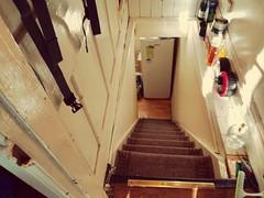 Steps (daveandlyn1) Tags: indoors stairs steps lookingdown dungeon basement pralx1 p8lite2017 imagetakenwithahuaweip8 smartphone psdigitalcamera cameraphone manchester levenshulme