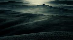 Tuscan hills at dawn. (Fabrizio Massetti) Tags: dawn dorcia valdorcia fabriziomassetti fog hills landscape landscapes light tuscany toscana