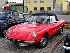 1980 Alfa Romeo Spider 1600 (Alessio3373) Tags: auto cars oldcars worldcars autoshite youngtimers classiccars spider cabriolet duetto alfaromeoduetto alfaromeospider