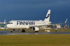 OH-LZO Finnair Airbus A321 EGCC 14/12/19 (David K- IOM Pics) Tags: egcc man manchester ringway airport 23l oh ohlzo airbus a321 fin ay finnair