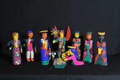 Oaxaca Mexico Nativity Nacimiento (Teyacapan) Tags: martinsantiago woodcarvings mexican oaxacan folkart christmas launion nacimiento pesebre