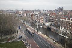 Lijnbaansgracht (Tim Boric) Tags: amsterdam lijnbaansgracht marnixstraat lauriergracht tram tramway streetcar strassenbahn museumtram union 144 731 ema