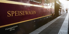 Travel & Enjoy (memories-in-motion) Tags: speisewagen travel mobility city train relax panorama panasonic mft dmcgx8 gx8 m12100mmf40 olympus track railway station time munich steam engine