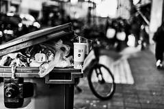 McDo (kceuppens) Tags: antwerpen antwerp street straat stad city black white bw blackandwhite zwart wit zw nikon d810 nikkor 50mm
