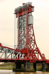 newportbrge4 (PeterJacksonToD) Tags: middlesbrough newport bridge river tees cleveland geometry